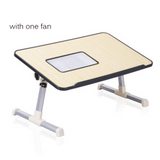 Foldable Laptop/Study Portadesk with a Cooling Fan