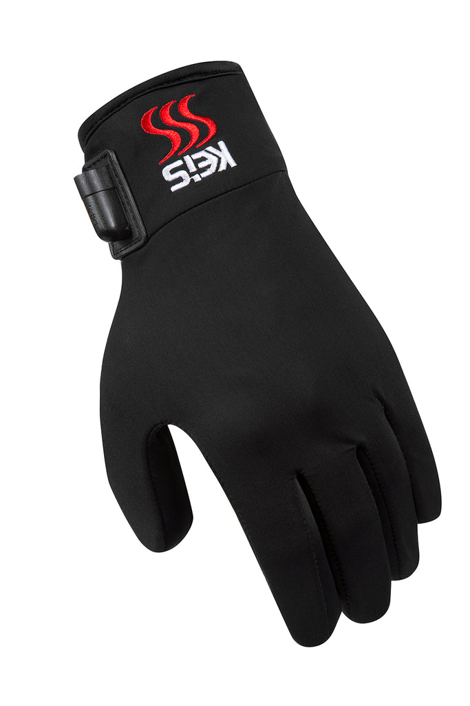 These heated glove liners are light and comfortable