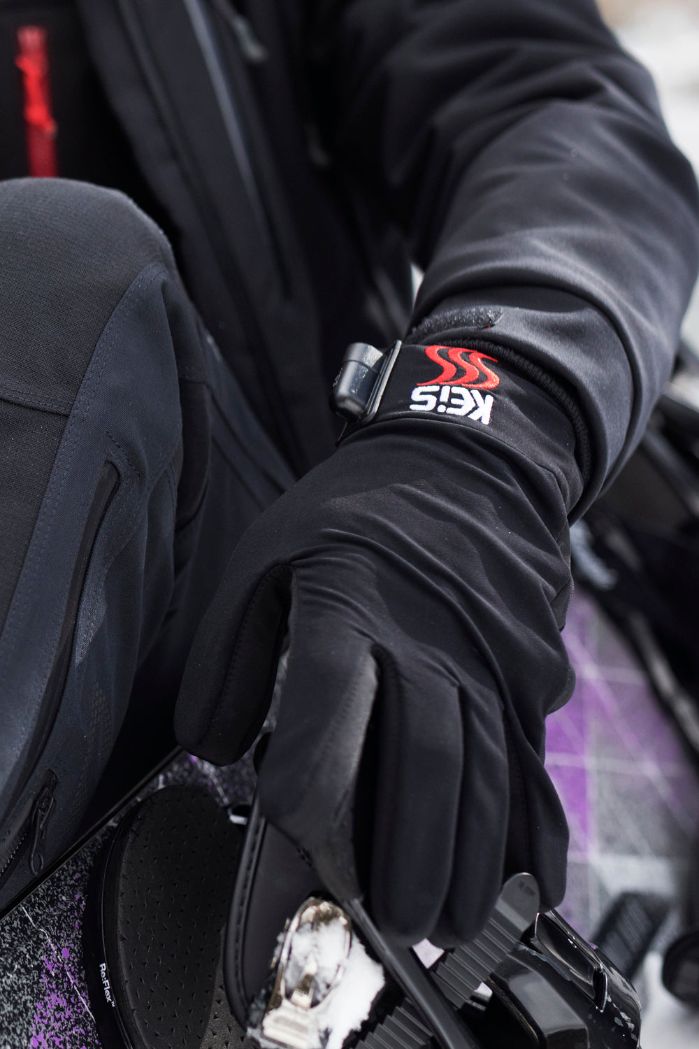 Wear Keis Heated Inner Gloves for many outdoor activities