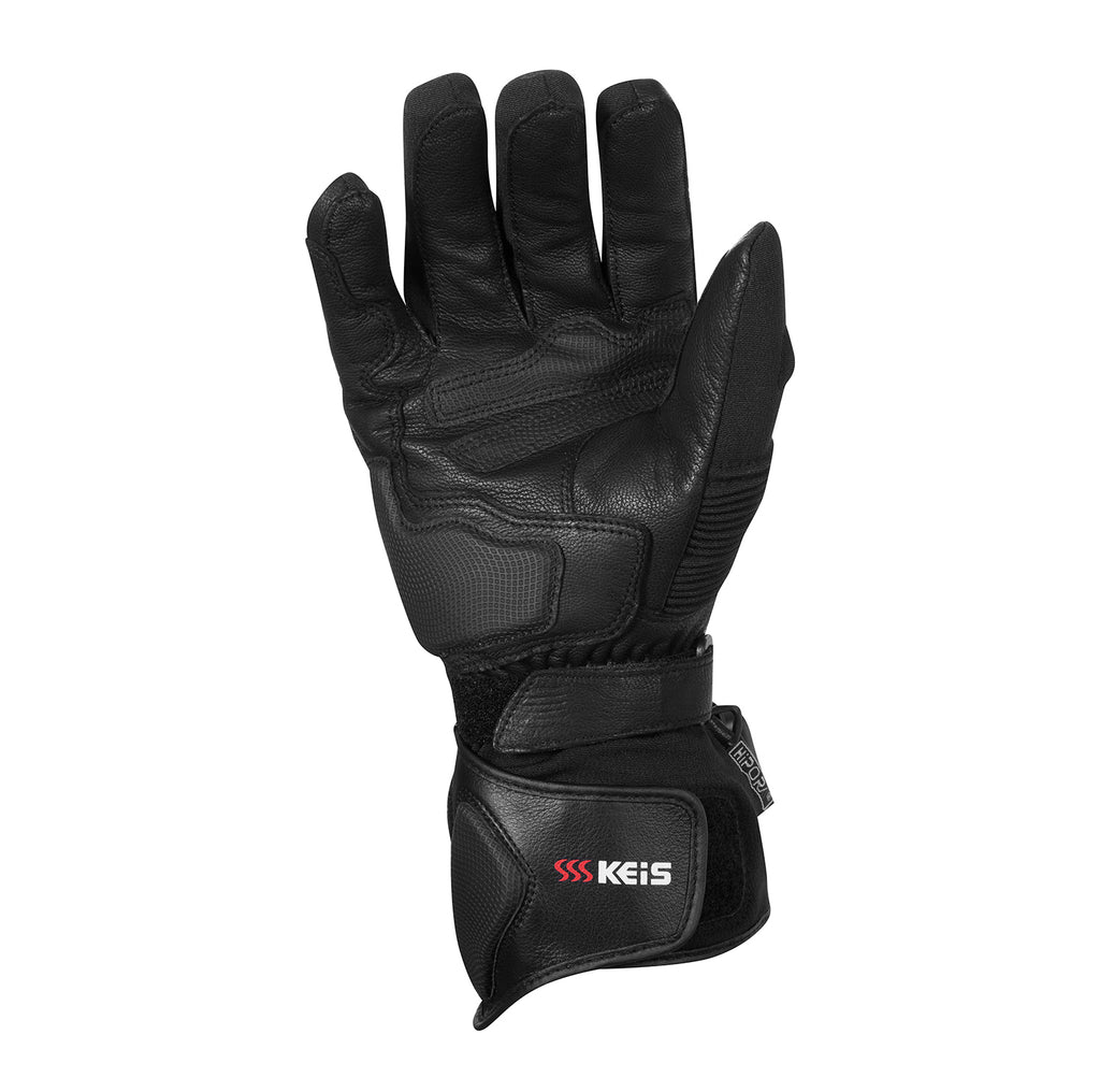Keis heated motorcycle gloves G501 palm 2