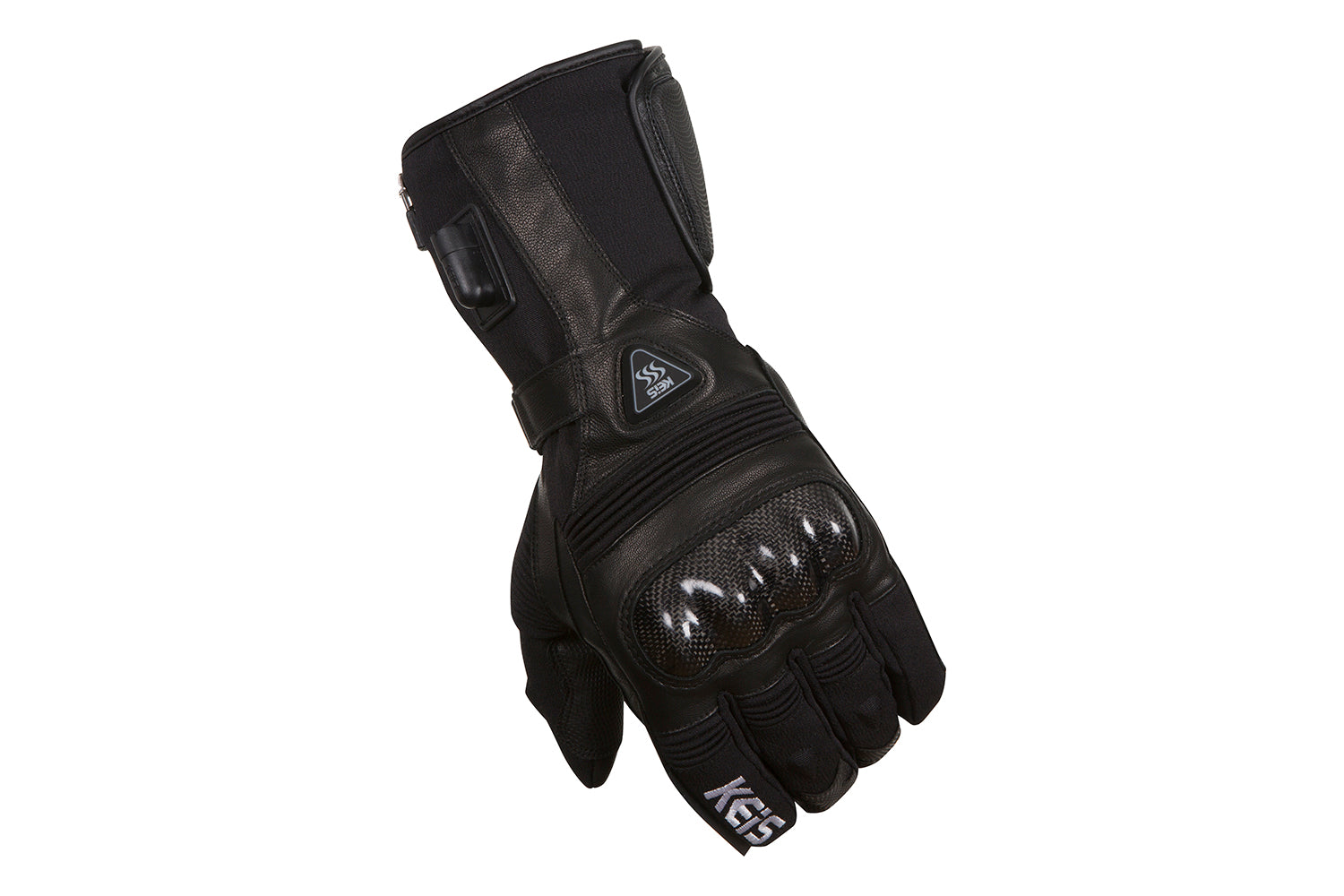 heated motorcycle gloves with protection on the knuckles
