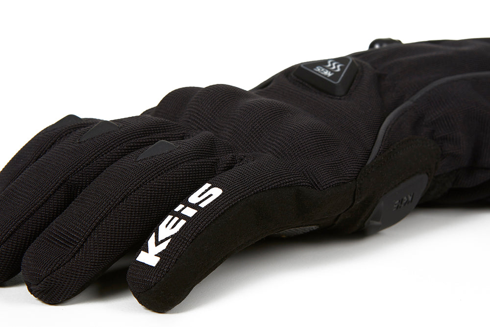 Keis heated glove G701 knuckle protection