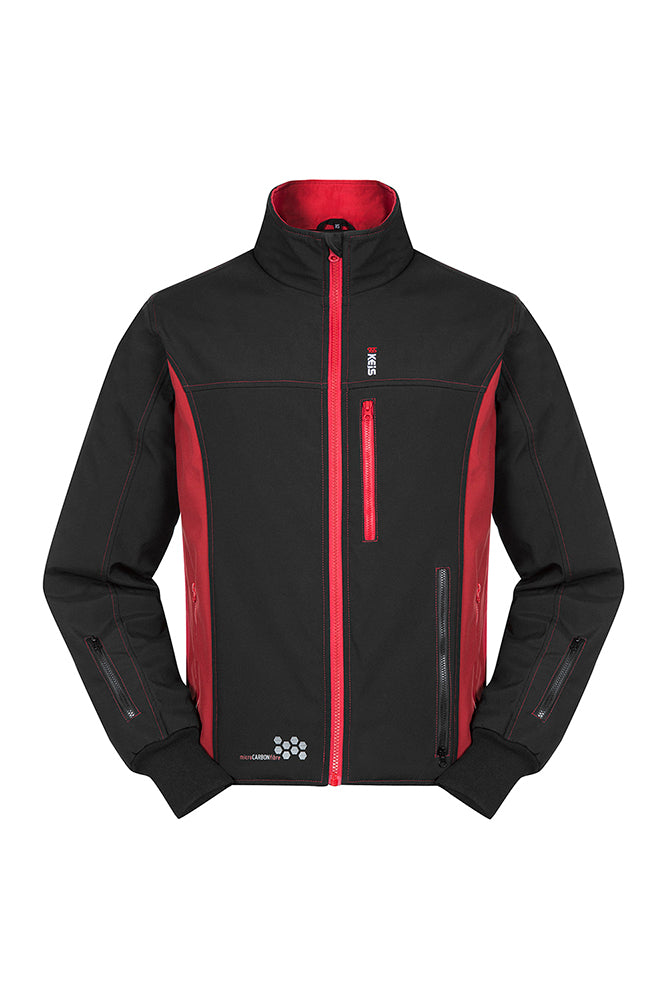 Keis Heated Jacket J501 Front View