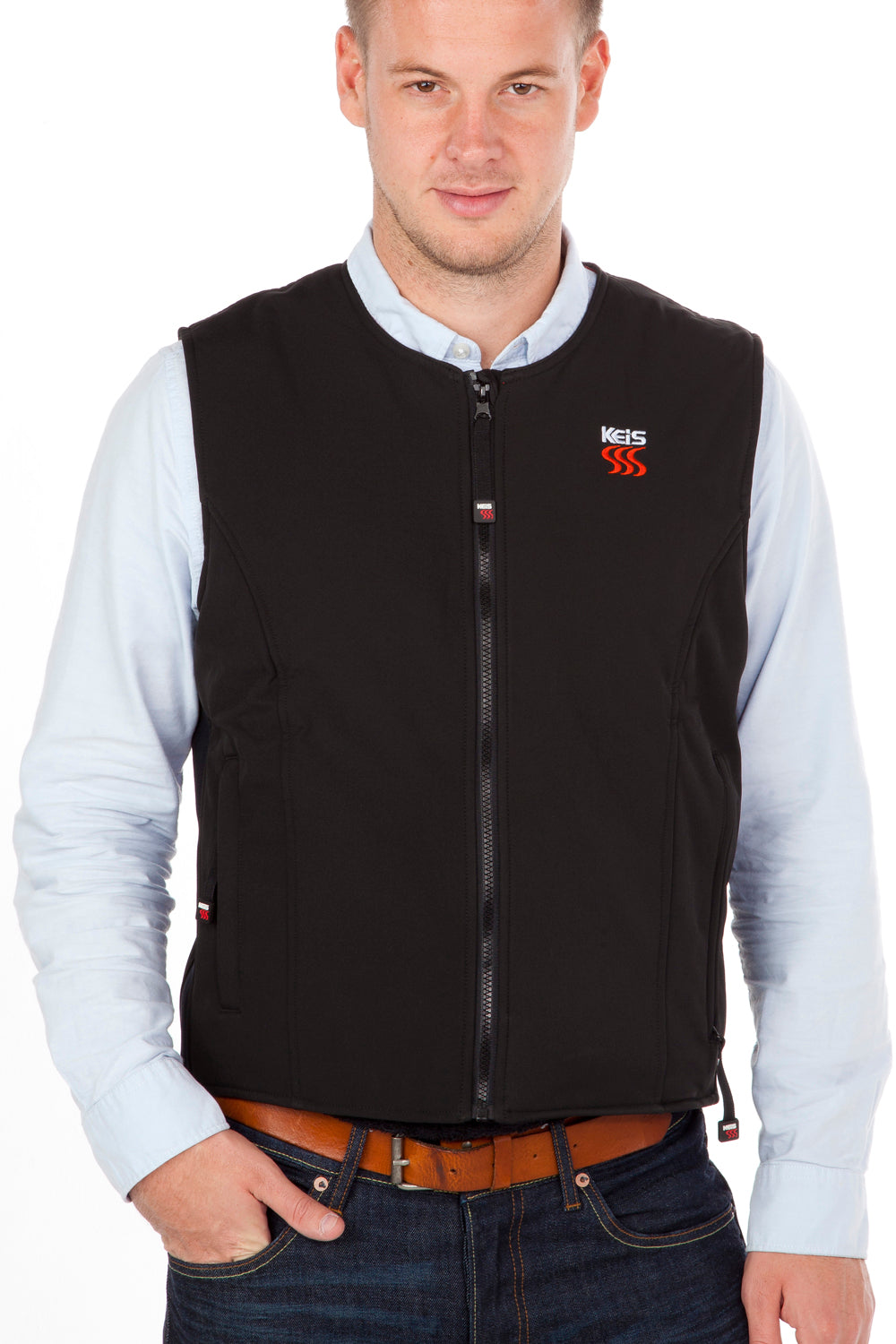 Keis heated vest is light-weight and very warm