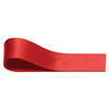 Double Sided Satin Ribbon - Red - Wedlock Shop
