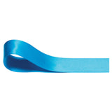 Double Sided Satin Ribbon - Turquoise - Wedlock Shop