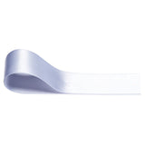 Double Sided Satin Ribbon - White - Wedlock Shop