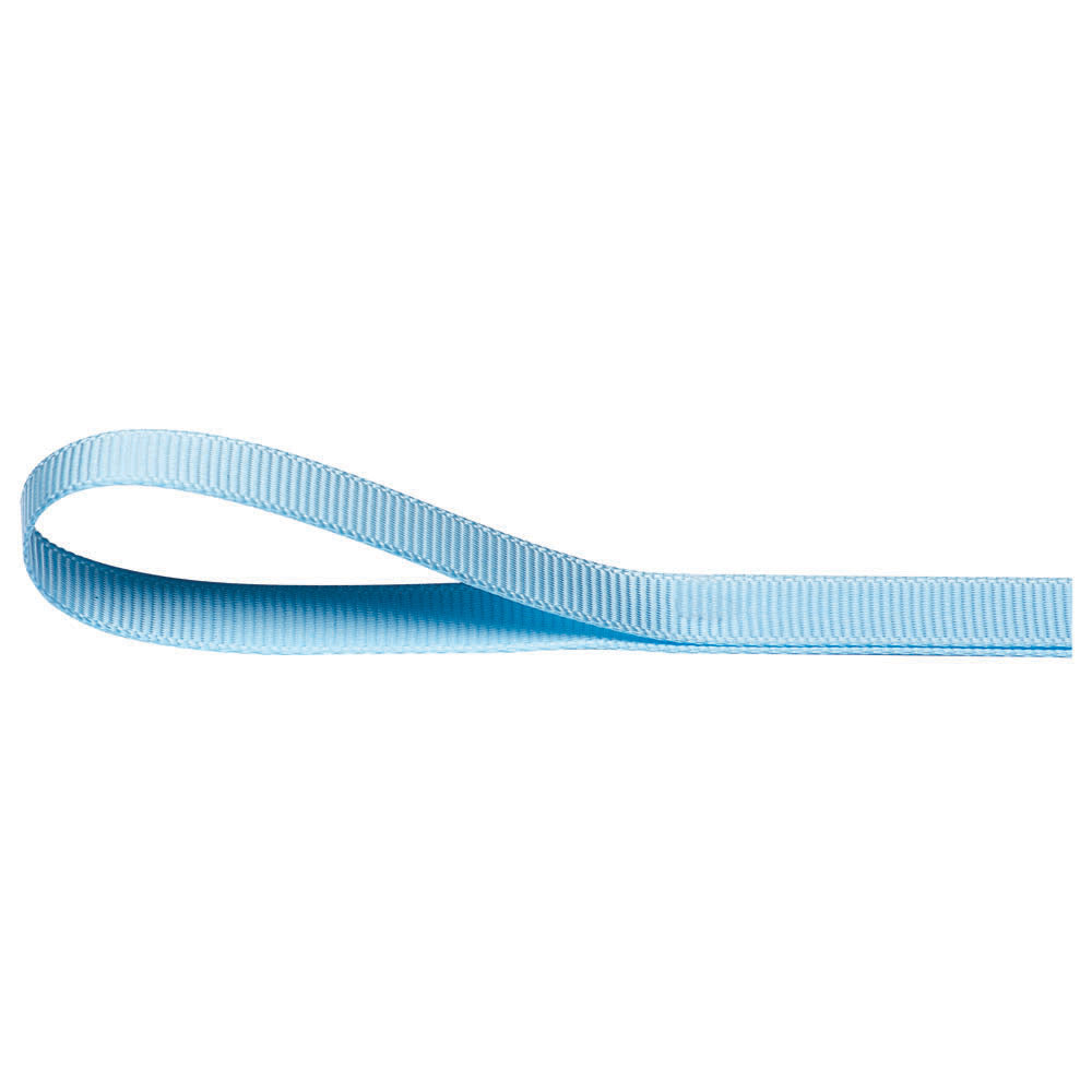 Polyester Grosgrain Ribbon - Light Blue - Wedlock Shop