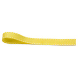 Stitched Grosgrain Ribbon - Yellow - Wedlock Shop