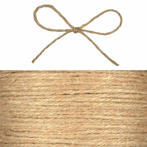 Hessian String - Grey
