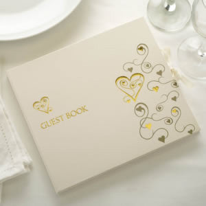 Cake Boxes White/Silver - Contemporary Heart