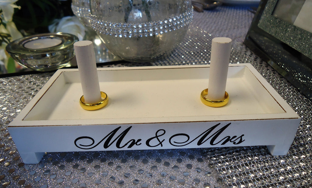 Mr & Mrs Ring Holder - Wedlock Shop - 2