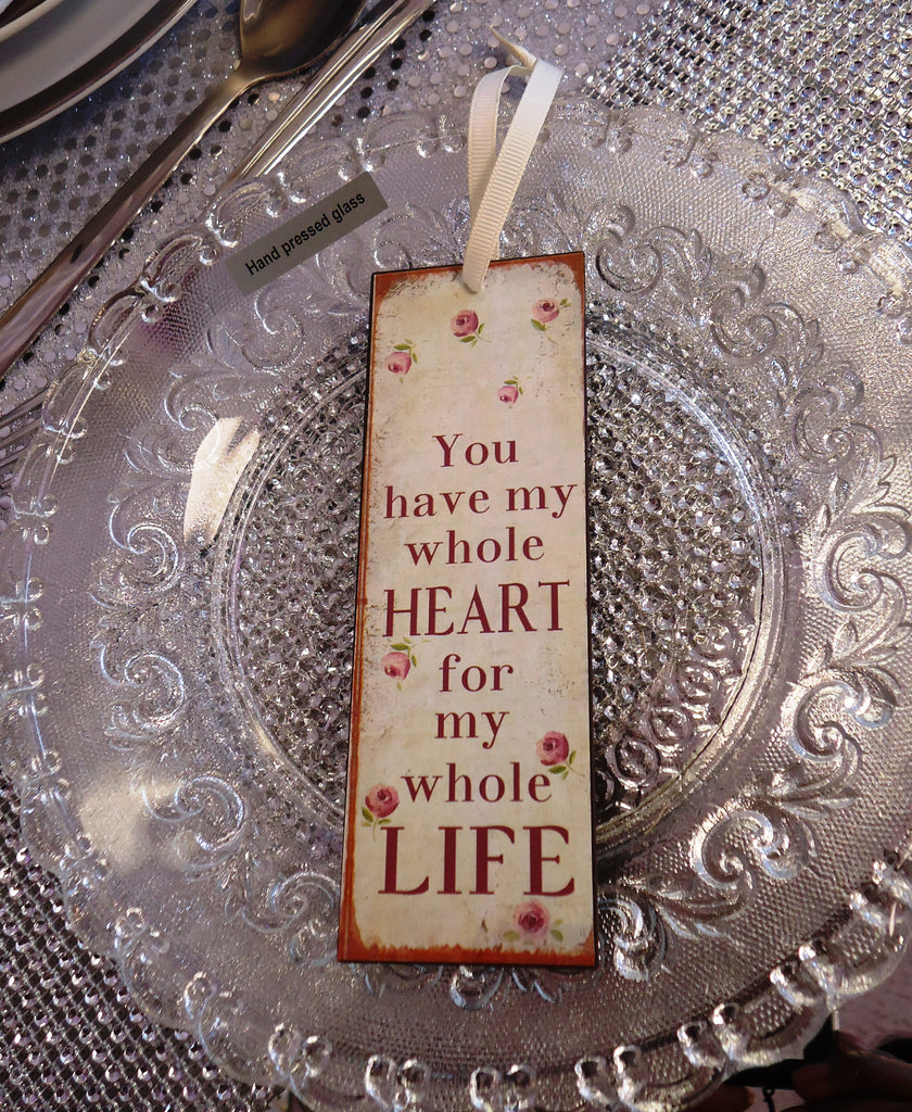You Have My Whole Heart Mini Metal Sign - Wedlock Shop - 2