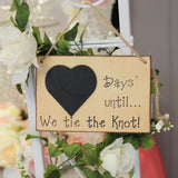 Days Until We Tie The Knot Chalkboard - Wedlock Shop - 1