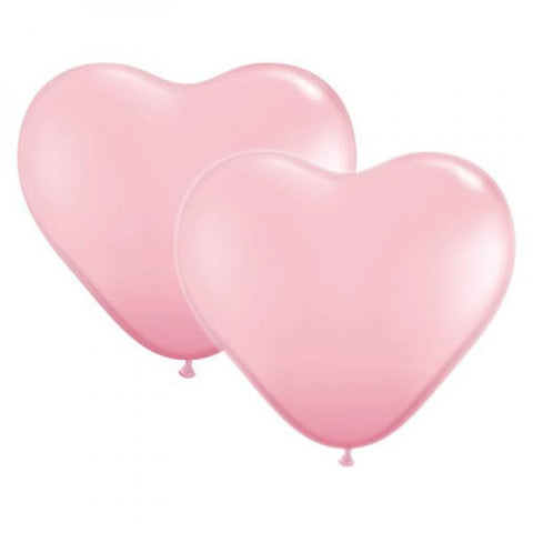 Double Heart Balloon Weight Iridescent