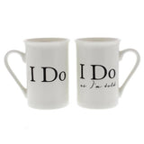 I Do & I Do as I'm Told Twin Mug Set - Wedlock Shop