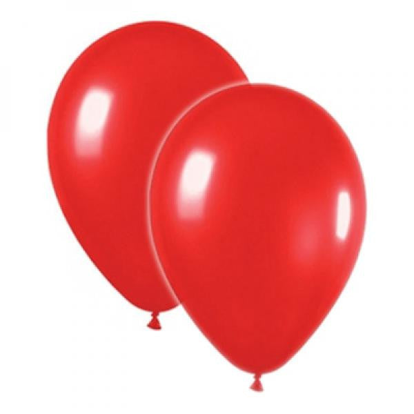 Latex Balloons - Red - Wedlock Shop