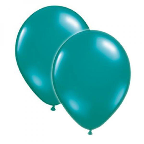 Latex Balloons - Teal - Wedlock Shop