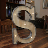 S LED Illuminated Letter - Wedlock Shop - 1