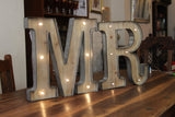 R LED Illuminated Letter - Wedlock Shop - 2