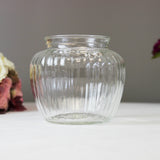 Vintage Glass Shoulder Jar - Medium - Wedlock Shop - 1