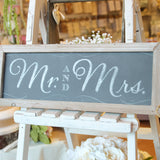 Mr & Mrs Chalkboard Sign - Wedlock Shop - 1