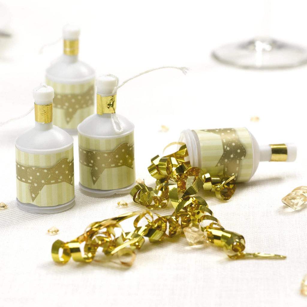Party Poppers Ivory & Gold - Chic Boutique - Wedlock Shop