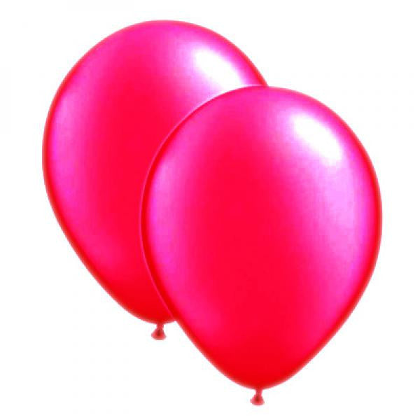 Pearlised Balloon Pack - Hot Pink - Wedlock Shop