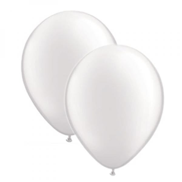 Pearlised Balloon Pack - White - Wedlock Shop