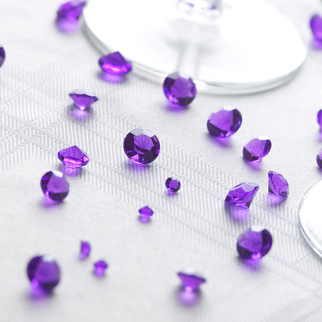 Purple Table Crystals - Wedlock Shop