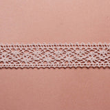Cotton Lace Ribbon - Rose Pink - Wedlock Shop
