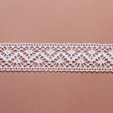 Cotton Lace Ribbon - White - Wedlock Shop