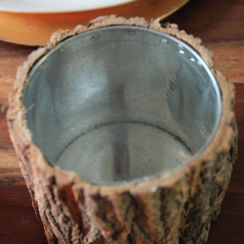 Bark Pot / Candle Holder - Wedlock Shop - 5