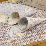 With Love Design Confetti Cones - Wedlock Shop