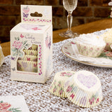 With Love Design Cup Cake Cases - Wedlock Shop