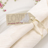With Love Small Luggage Tags - Wedlock Shop