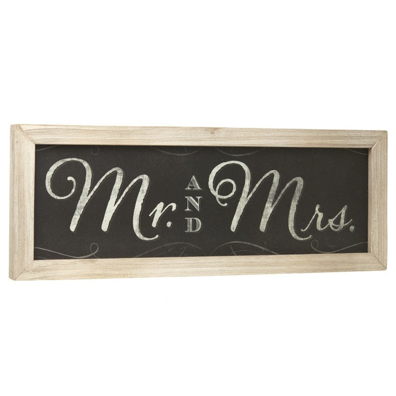 Mr & Mrs Chalkboard Sign - Wedlock Shop - 3