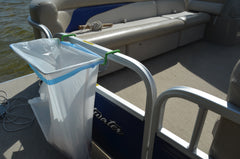 13 Gallon Pontoon 1 inch version in White and Green PLEASE COPY AND PASTE AMAZON LINK TO GET FREE SHIPPING
