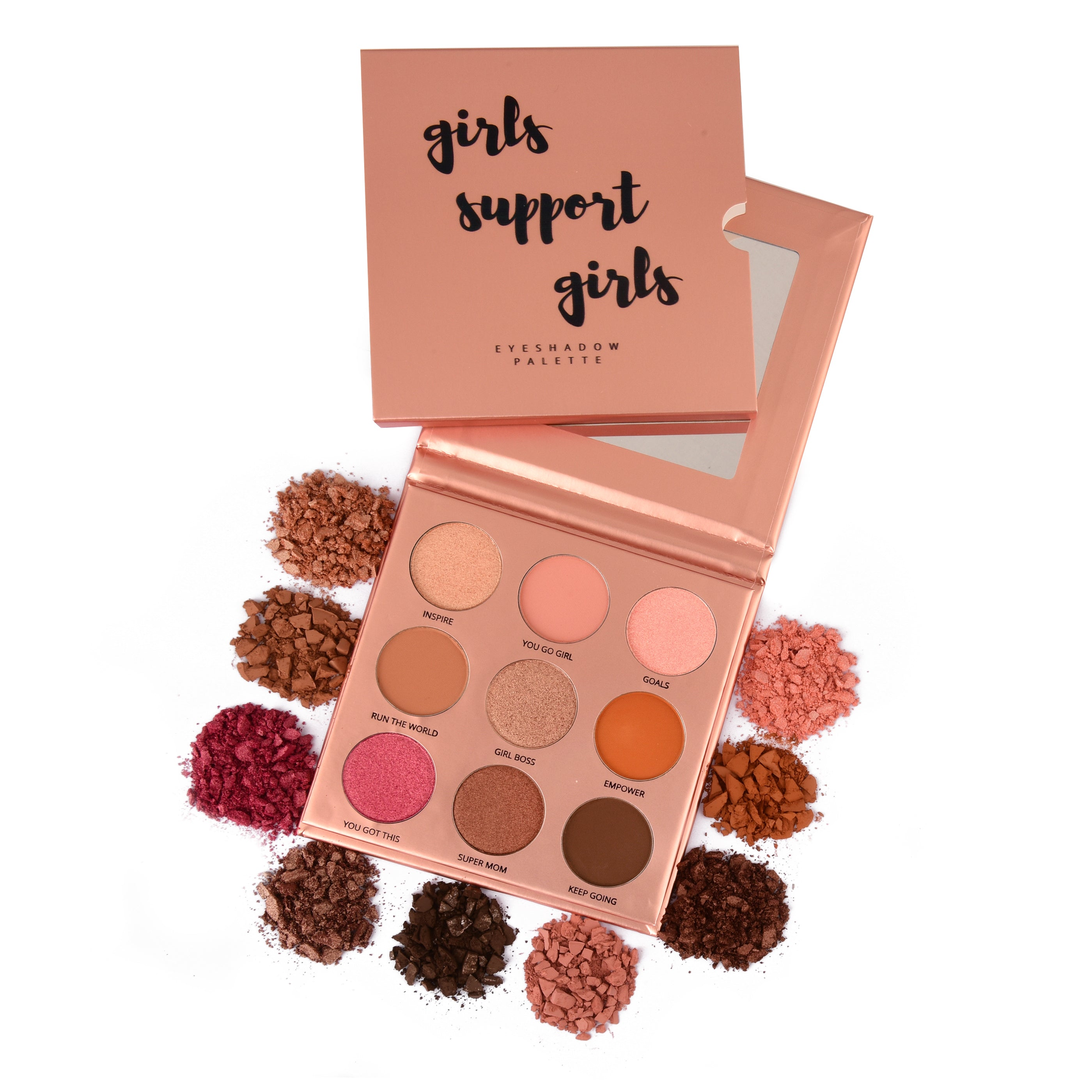 girls support girls palette