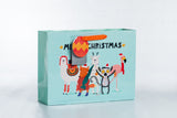 Winter Animals Christmas Gift Bag 冬天動物聖誕禮物袋
