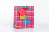 Checkered Gift Bag 格子禮物袋