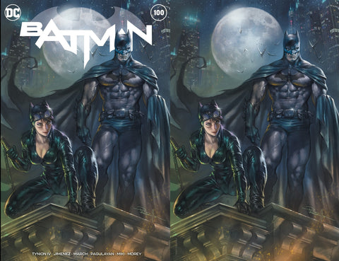 Batman #100 - Lucio Parrillo 2 Cover Set  - LTD 1000