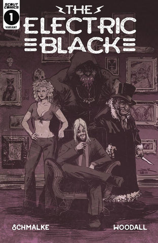 The Electric Black #1 - Retailer 1:10 Incentive Cover