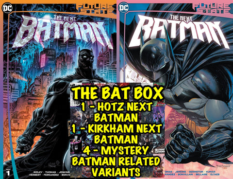 "Future State The Next Batman #1 - ""THE BAT BOX MYSTERY BUNDLE!!!"" - Mid Jan."