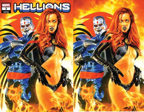 Hellions #3 Mayhew - 2 Cover Set - LTD 1000