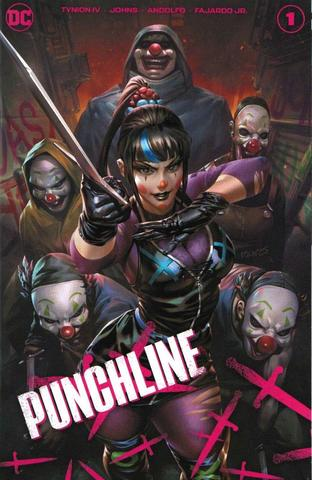 Punchline Special #1- Derrick Chew DC Team Variant