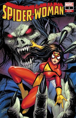 Spider-Woman #1 - Tyler Kirkham Trade Variant - LTD 3000