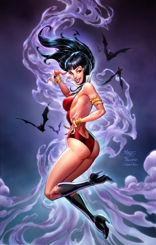 Vampirella #16 -John Royle Virgin Smoke Variant - LTD 500 - Mid Jan