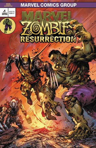 Marvel Zombies Resurrection #1 - Kael Ngu Variant