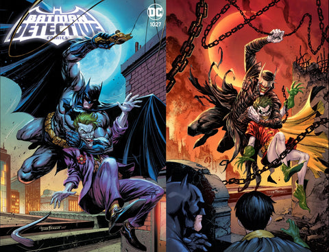 Detective Comics #1027 - Kirkham Variant 2 Cover Set - LTD 1500